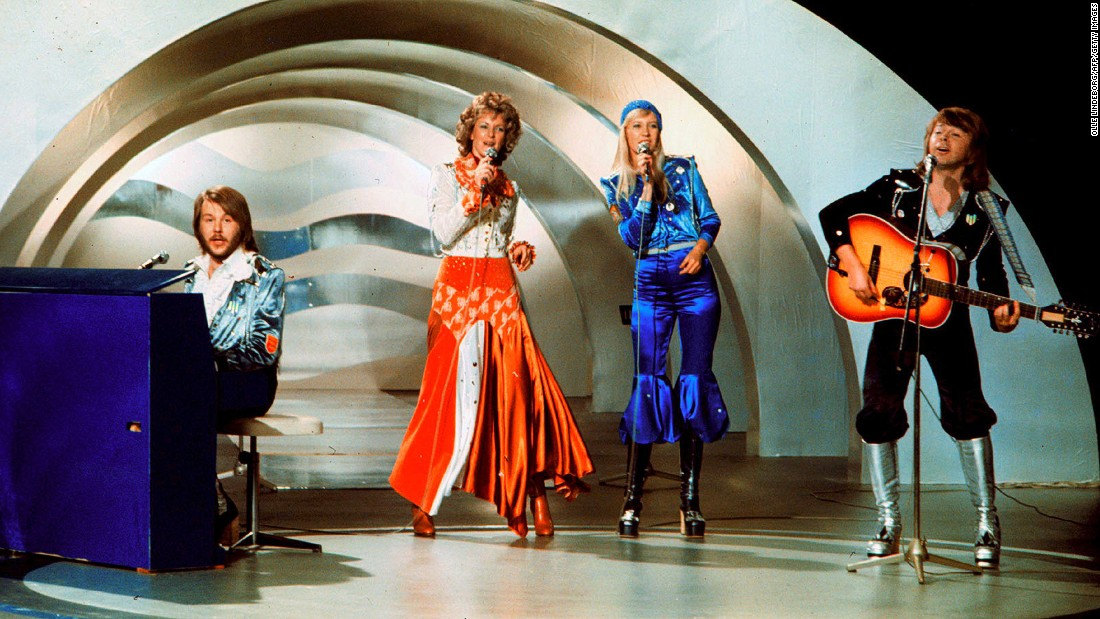"Swedish supergroup ABBA threatened to sue when they discovered 1976 hit ""Mamma Mia"" was being used as a rally song in Denmark by the far-right Danish People's Party."