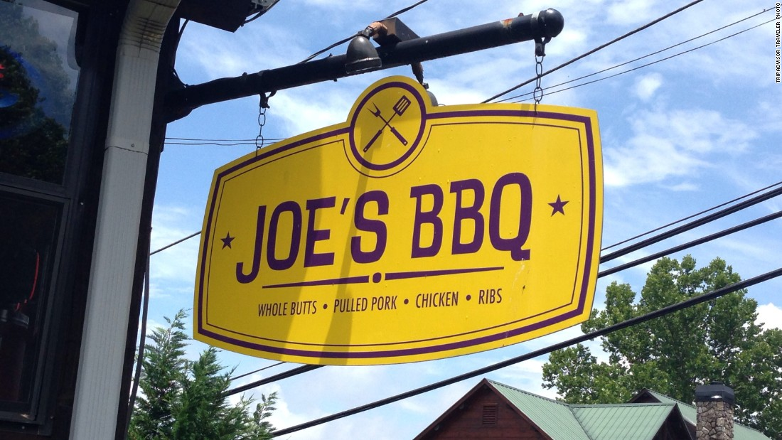"This BBQ joint in North Georgia is the nation's No. 1 barbecue restaurant, according to travel site TripAdvisor. The site created a list of <a href=""http://www.cnn.com/2015/05/20/travel/tripadvisor-best-bbq-states-restaurants-feat/"">America's 10 best BBQ restaurants</a> based on the volume of reviews and the quality and quantity of reviews."