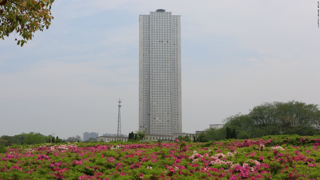 The Chinese firm that can build a skyscraper in a matter of weeks