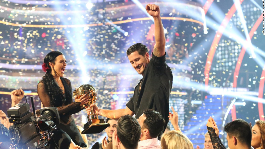 "Rumer Willis and Val Chmerkovskiy were crowned the 20th season champions and winners of the mirror ball trophy on the ""Dancing with the Stars"" season finale."