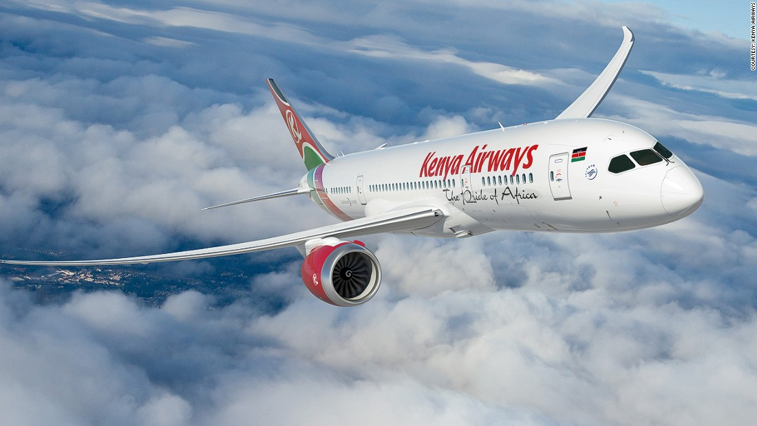 With a fleet of 34, Kenya Airways flies over three million passengers to 53 destinations worldwide every year. It was the first airline in Africa to be successfully privatized and is now a private-public partnership. It serves 41 countries.
