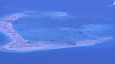 High stakes surveillance over the South China Sea