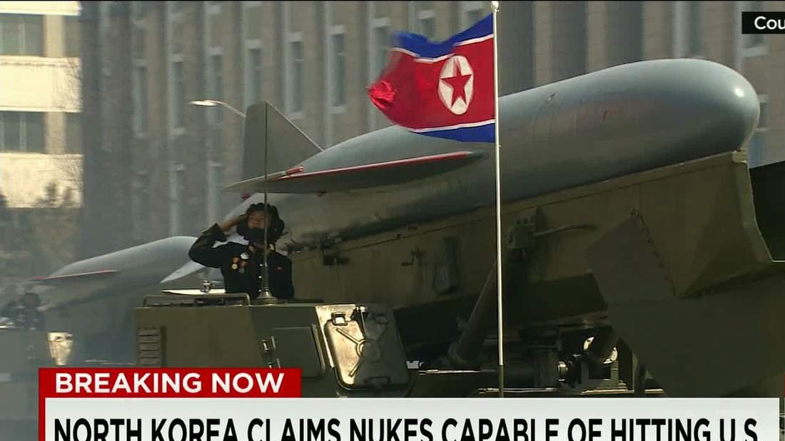 North Korea says it can miniaturize nuclear weapons