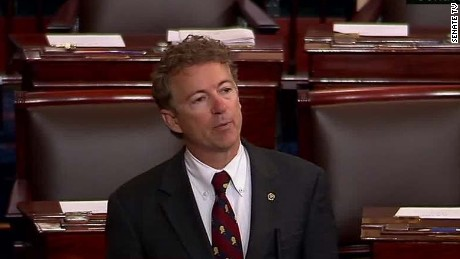Rand Paul ends Patriot Act 'filibuster' after 10 hours