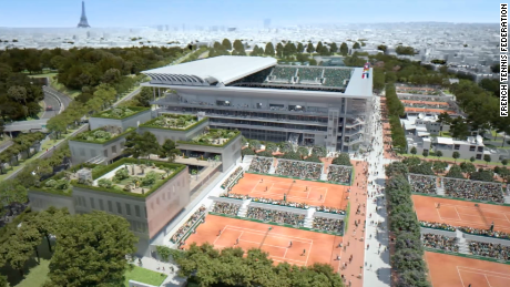 The French Open's $400M makeover