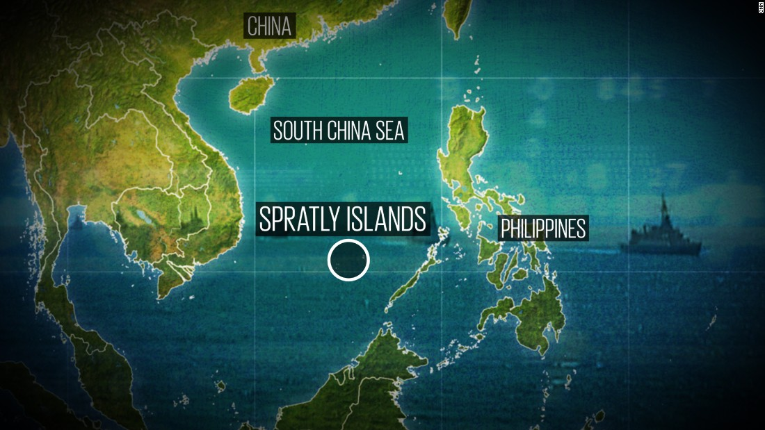 Chinese Building Islands In South China Sea
