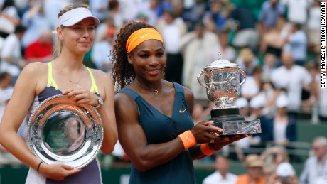 Duel in the dirt: Serena vs. Maria
