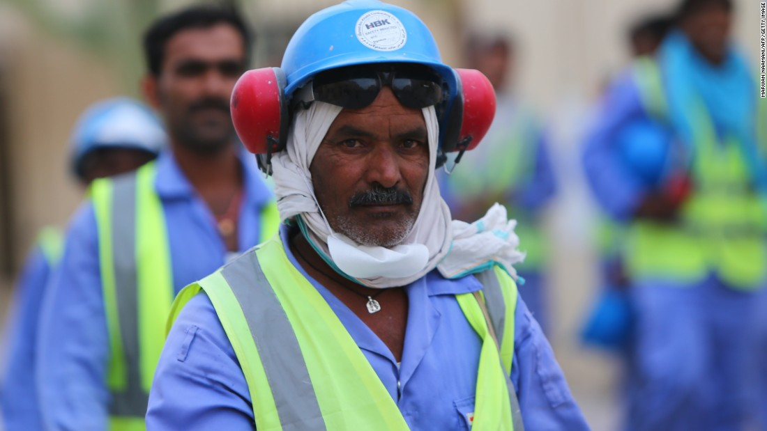 Amnesty said Gulf desert emirate Qatar had yet to deliver any real labor reforms since becoming the first Middle East nation to win the right to host the World Cup.