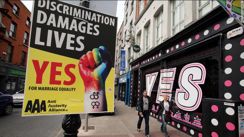 Ireland could be first to legalize gay marriage by vote