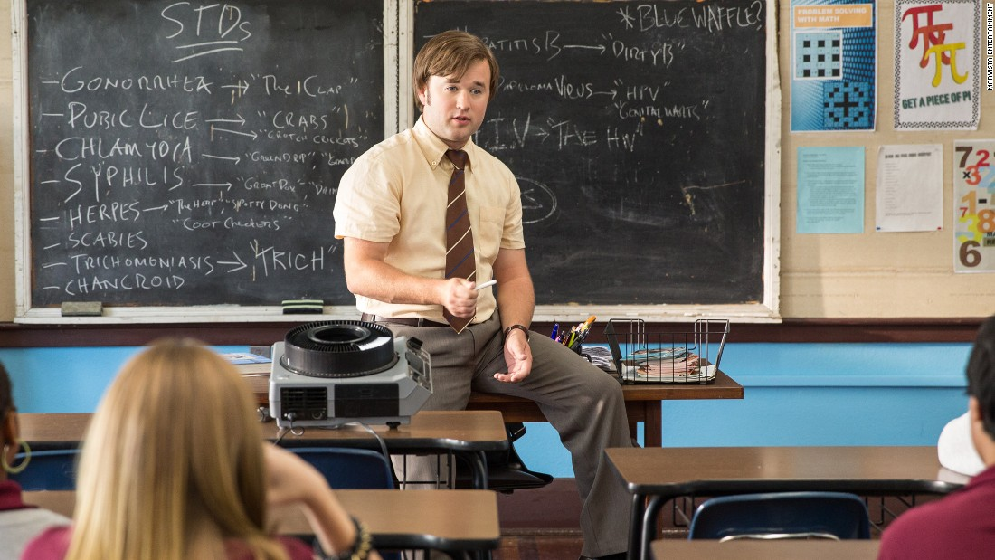 "<strong>""Sex Ed"" (2014): </strong>Haley Joel Osment stars in this film about a teacher determined to teach his class about sex education even though he is a virgin. <strong>(Netflix) </strong><br />"