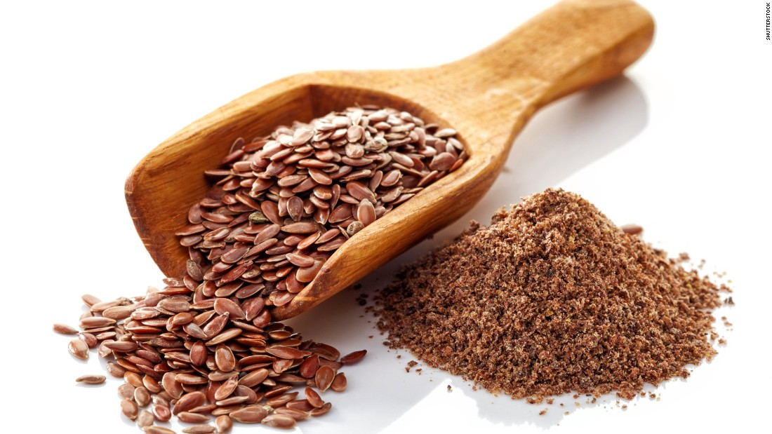 Most experts recommend eating flaxseeds ground so you don't end up flushing the health benefits away.