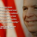 Memorial Day McCain quote