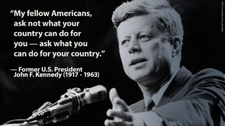 American ideals from American leaders