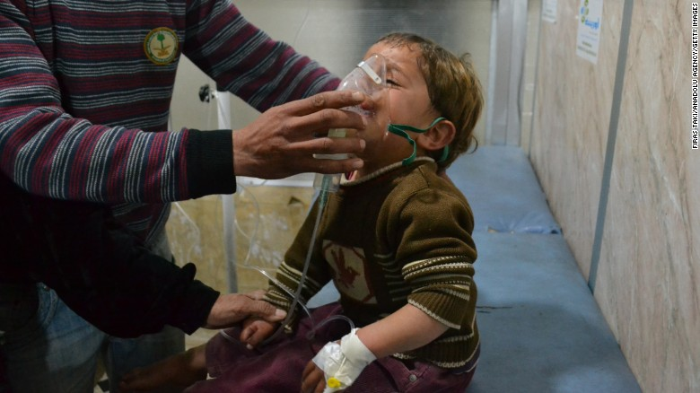 U.S. is 'certain' Syria used chlorine gas in attacks