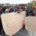 rosarno migrants protest