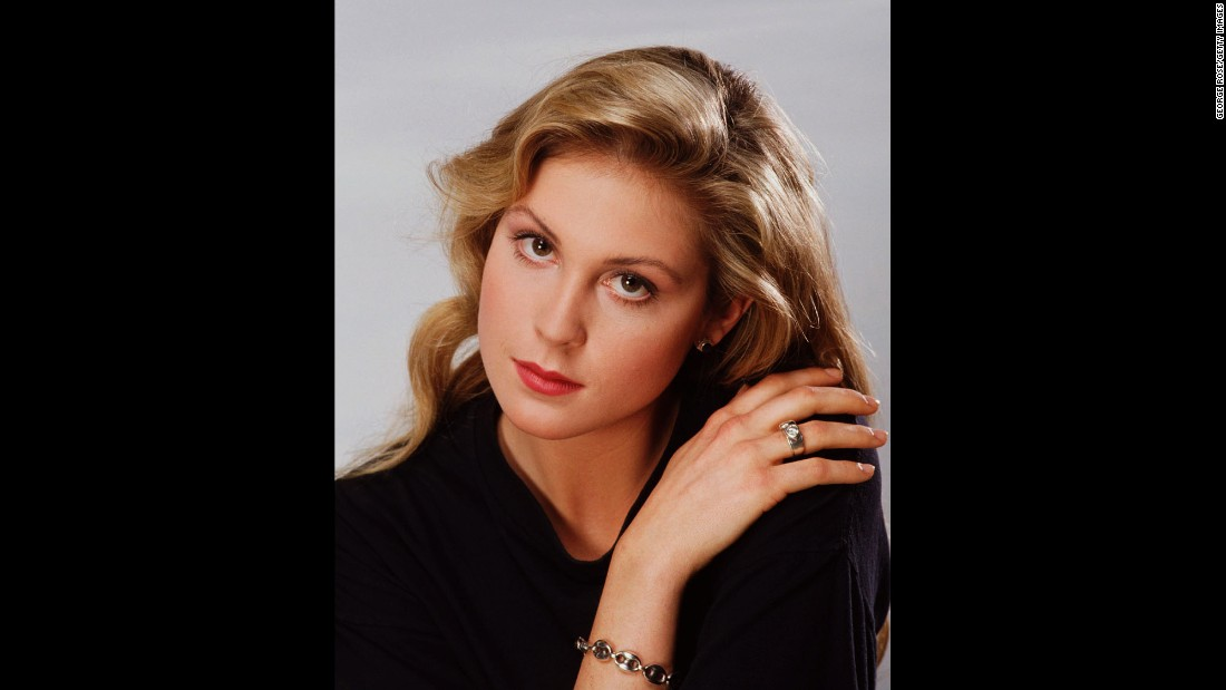 Rutherford poses during a 1989 portrait session in Beverly Hills, California.