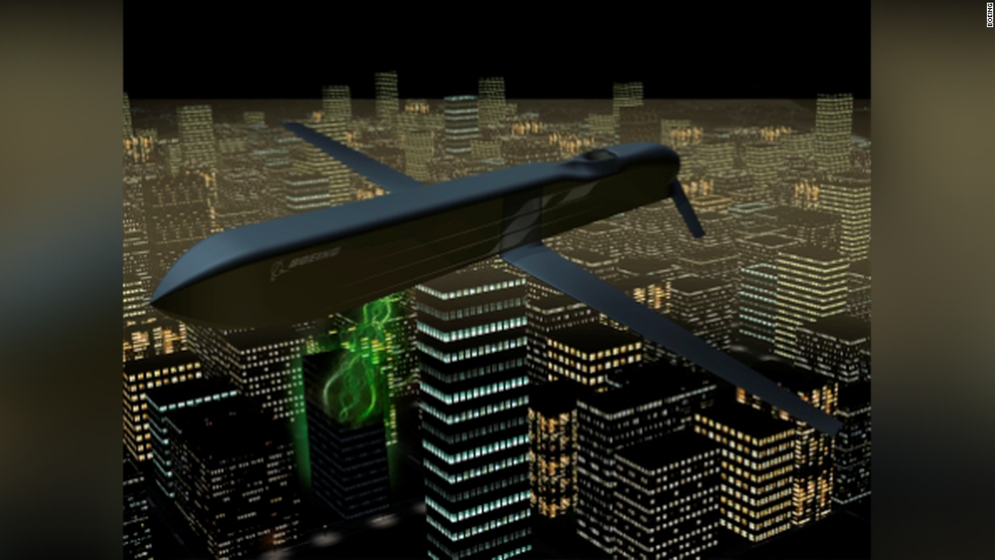 Air Force confirms electromagnetic pulse weapon