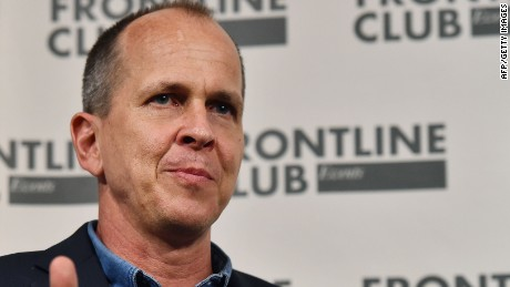 Journalist Peter Greste: 'I can't go back' to Egypt