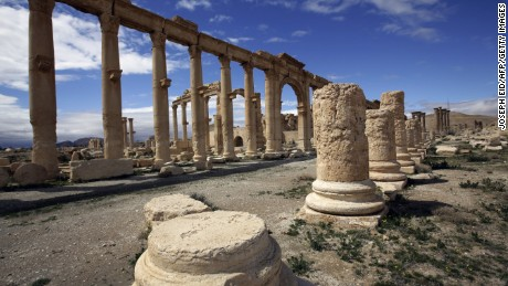 Learning from WWII Monuments Men to protect Palmyra