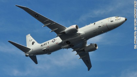 Russian intercept of US Navy plane causes 'violent turbulence'