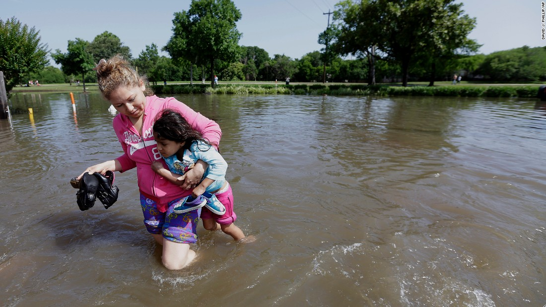 Help Houston With Flooding Or Build A Wall