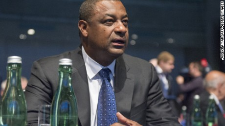 Jeffrey Webb, head of CONCACAF