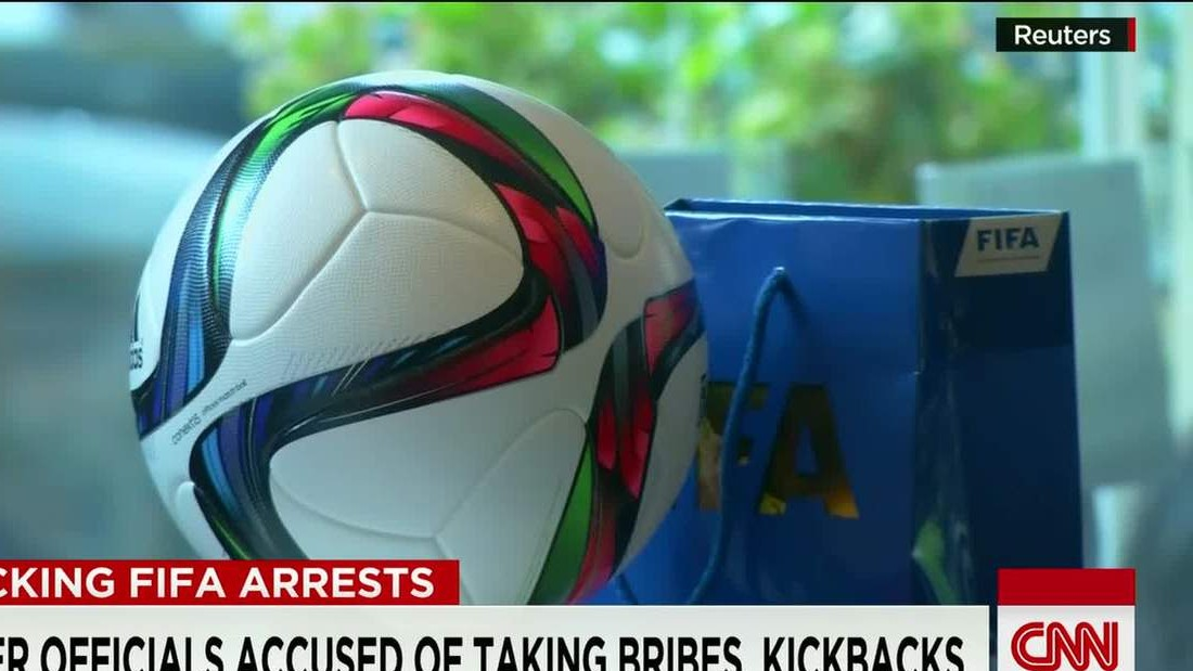 FIFA corruption probe targets 'World Cup of fraud,' IRS chief says