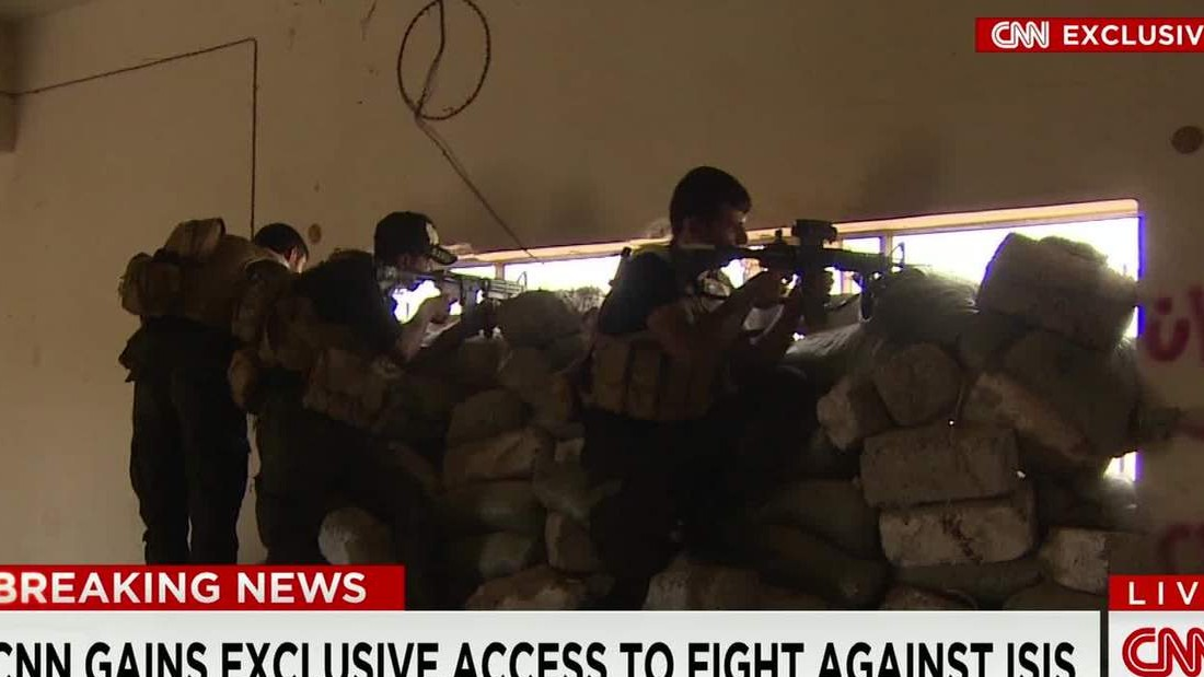Iraqi forces, ISIS militants clash in Anbar operation