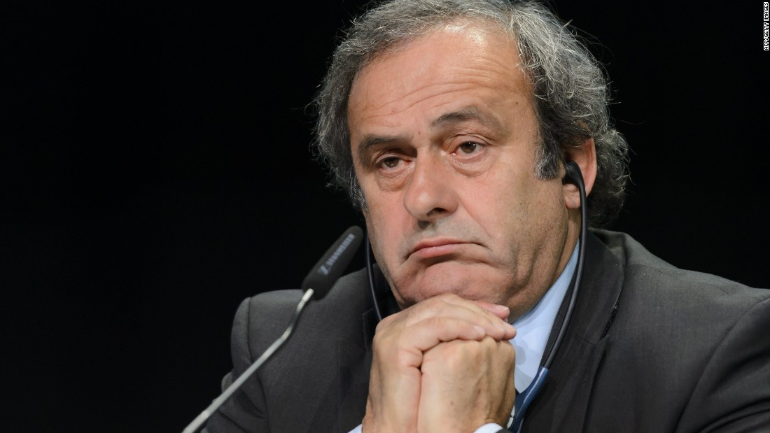 UEFA president and FIFA vice-president Platini was also provisionally banned for 90 days. Platini is one of the FIFA presidential candidates hoping to succeed Blatter.
