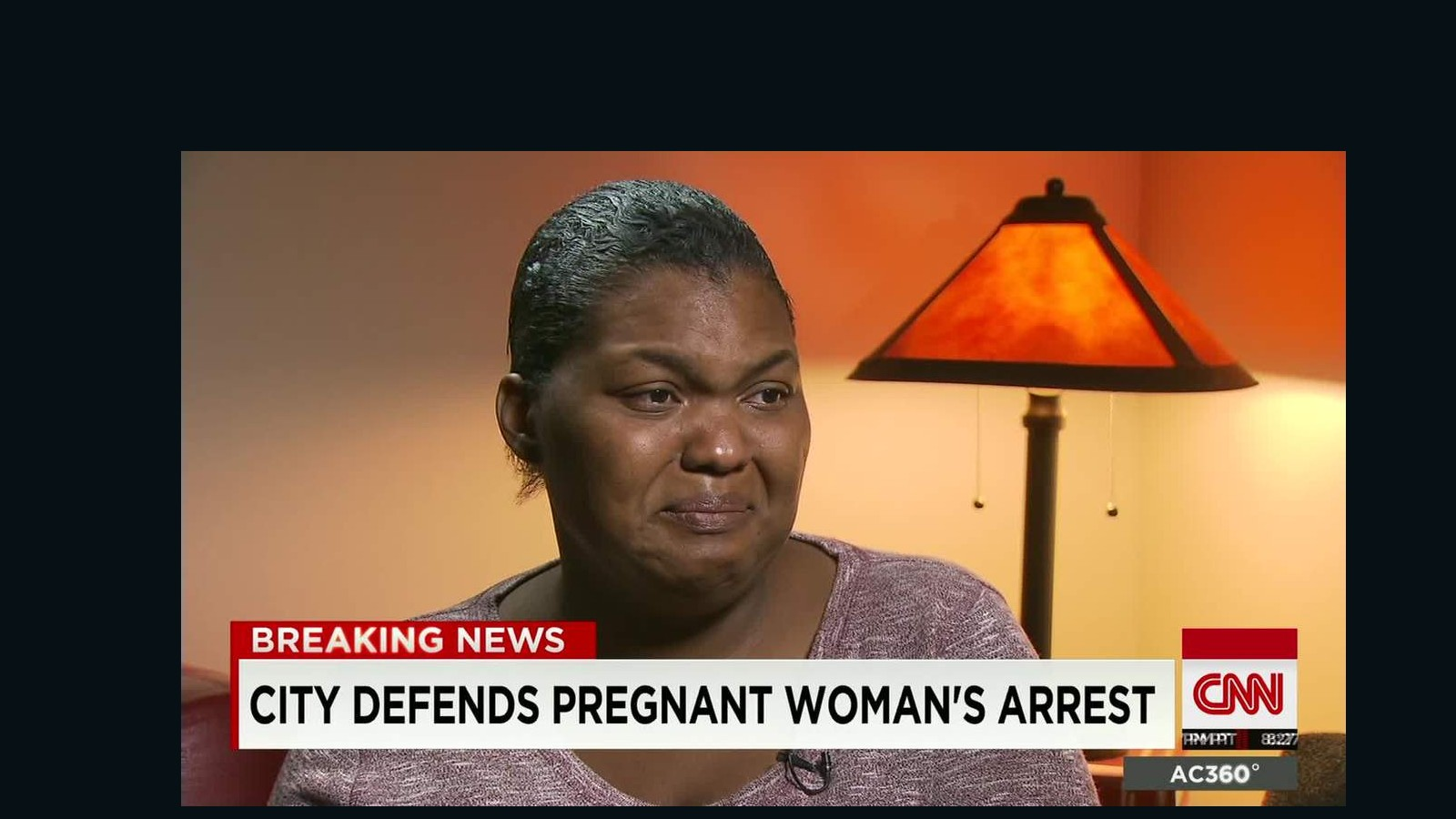 california police video pregnant woman arrested cnn