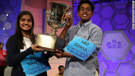 Why Indian-Americans win spelling bees: P-R-A-C-T-I-C-E