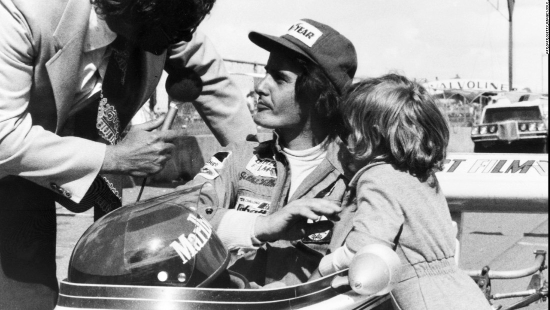 Gilles Villeneuve was one of the most popular racers of his generation. Although he won just six of his 67 races, his style and swagger made him a favorite with motorsport fans. He died following an accident at the 1982 Belgian Grand Prix.