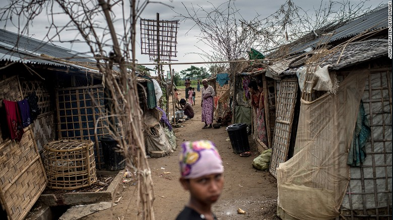 Myanmar's Rohingya struggle for survival in camps