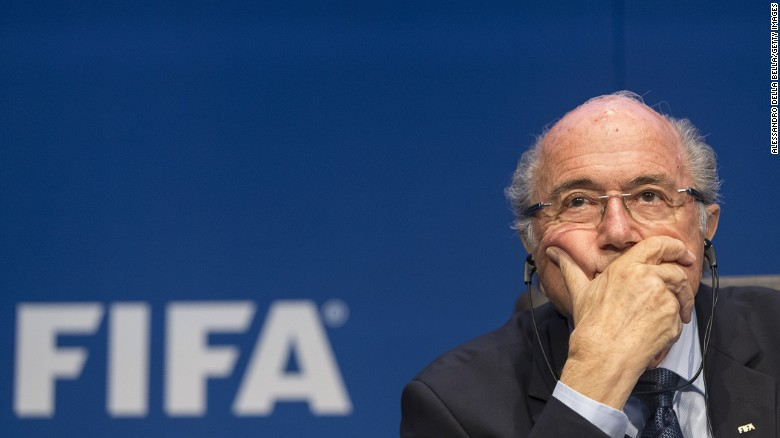 FIFA's embattled president, Sepp Baltter resigns