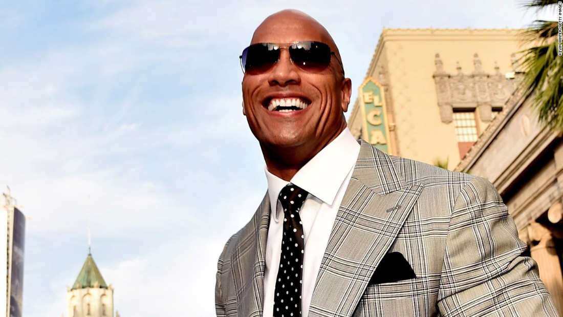 "Dwayne ""The Rock"" Johnson was the 2016 title holder."