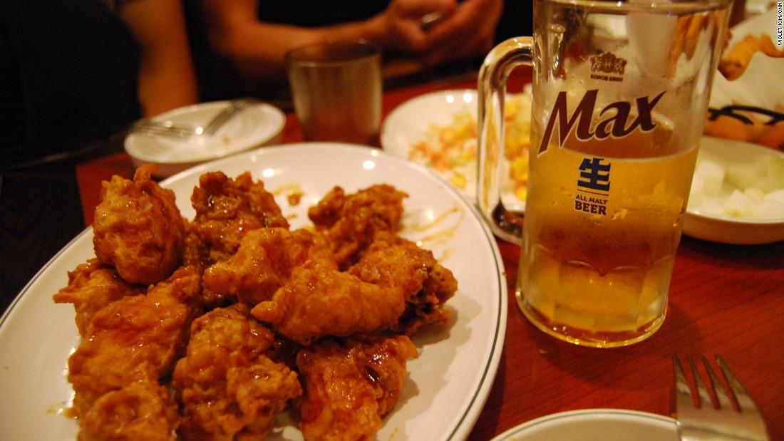 Chimaek Korean Fried Chicken And Beer Cnn Travel