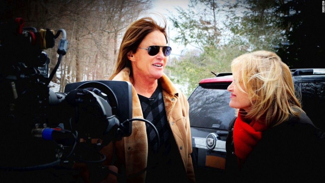 "In April, Jenner sat down for <a href=""http://money.cnn.com/2015/04/24/media/bruce-jenner-interview-diane-sawyer/index.html"">an interview with Diane Sawyer</a> to reveal that the former Olympian has the ""soul of a female."""