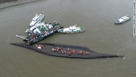 Rescuers continue to search for survivors on June 2.