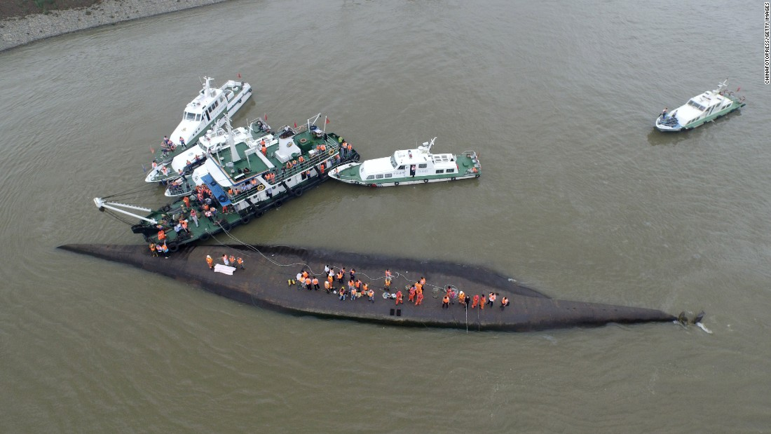 Rescuers search for survivors on June 2.