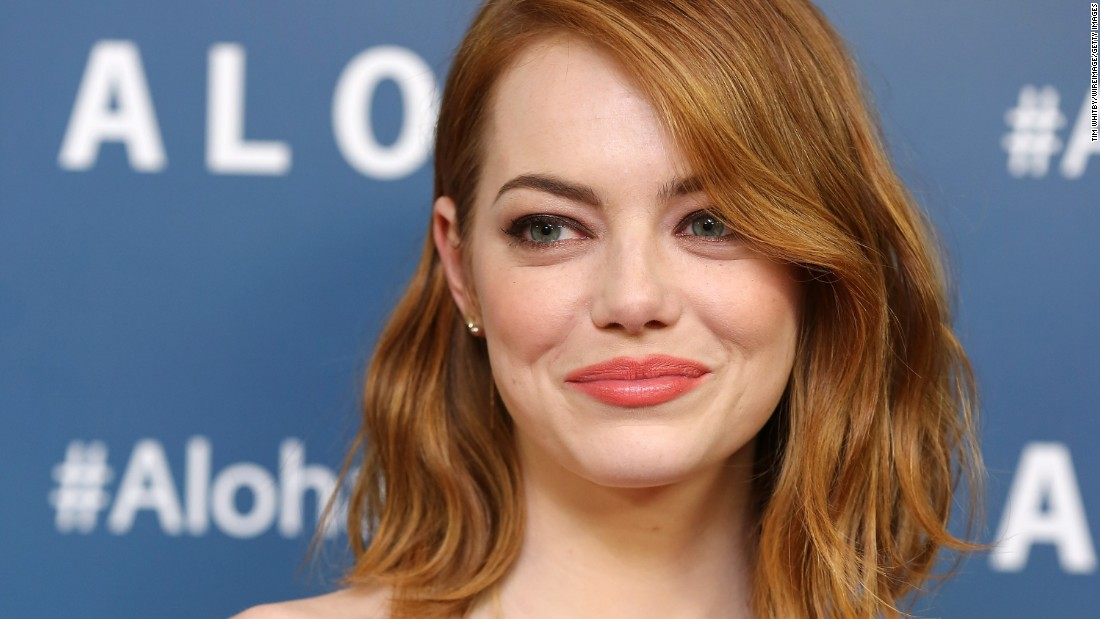 "Writer-director Cameron Crowe cast Emma Stone as a Hawaiian woman who is one-quarter Chinese in his movie ""Aloha."" Crowe apologized after many criticized the casting choice, although he said Stone's character was based on a real-life redhead who was part Asian."