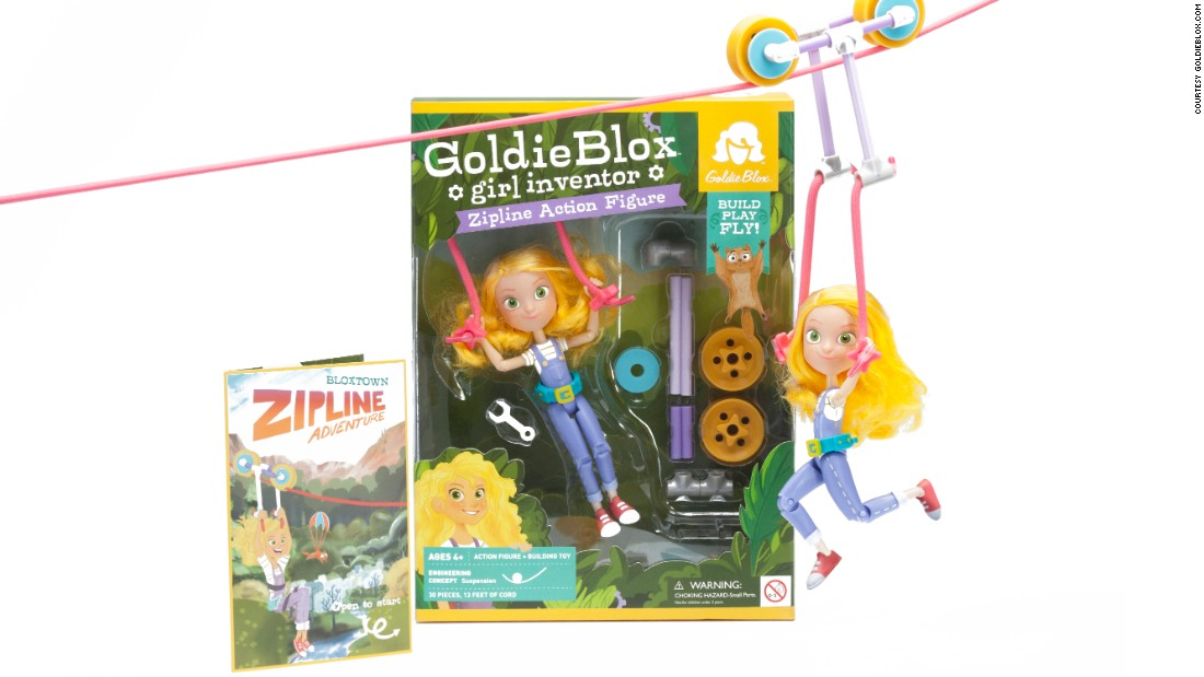 "All the changes to traditional dolls are taking place amid a revolution in toy options targeted at girls. <a href=""http://www.cnn.com/2013/11/20/living/goldieblox-ad-toys-girls/"">GoldieBlox</a> is a mini-engineer who comes with raw materials for creative play."