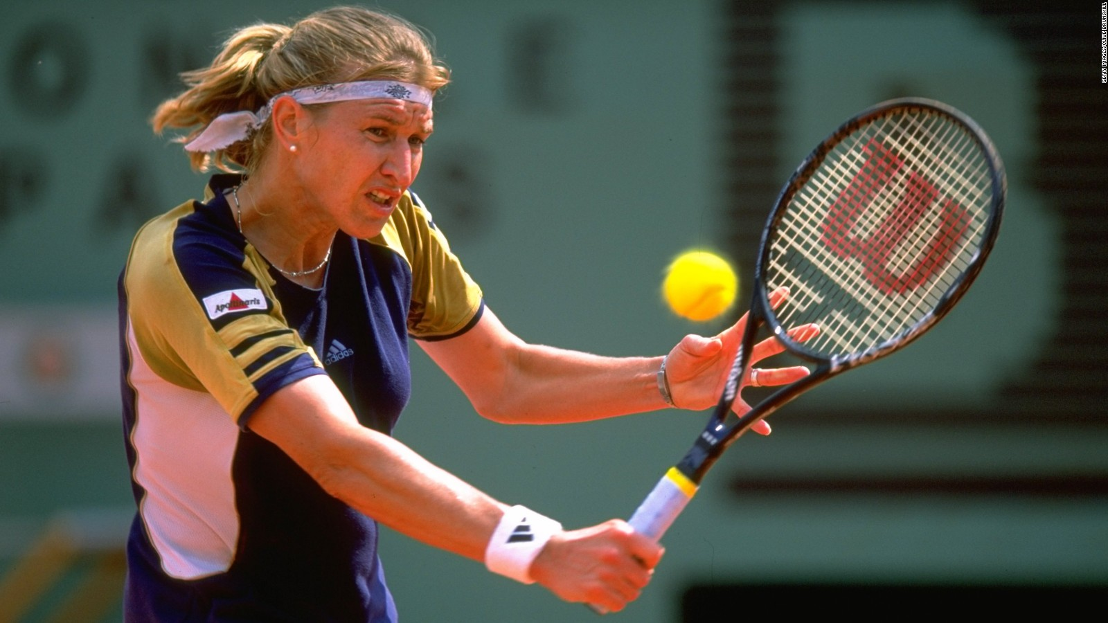 How Steffi Graf fell in love with Roland Garros CNN Video
