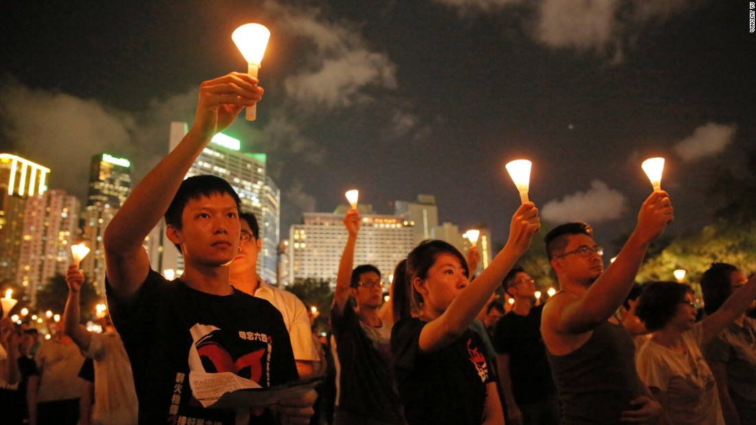 In addition to honoring the victims of the June 4 crackdown, the vigil is also treated by participants as an expression of discontent with the governments of China and Hong Kong.