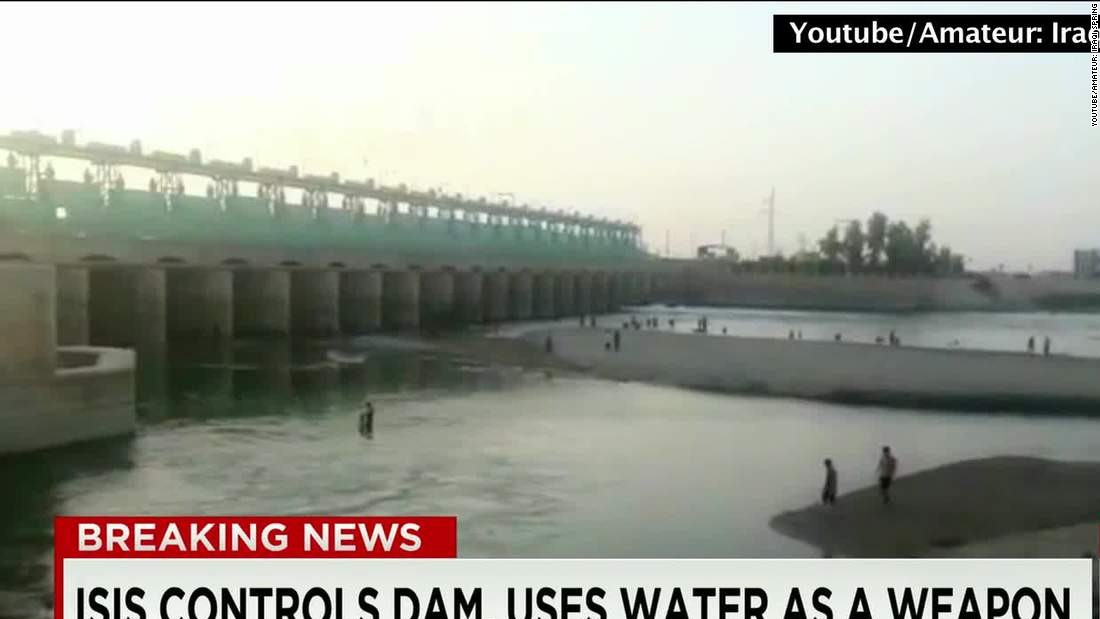 Iraq: ISIS fighters close Ramadi dam gates, cut off water to loyalist towns