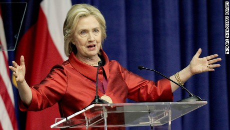 Hillary Clinton calls for voting rights expansion