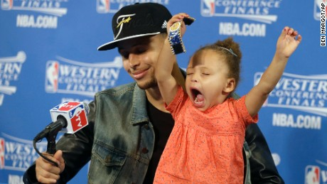 Riley Curry's 7 most adorable moments