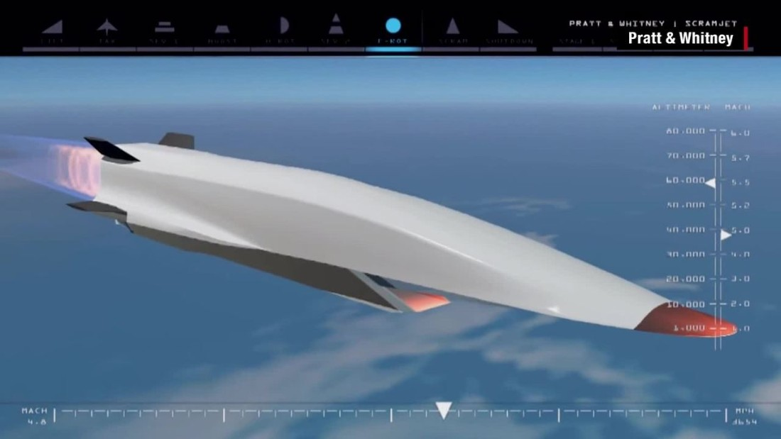 Hypersonic aircraft to go 5 times the speed of sound