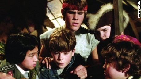 """The Goonies"" was one of two films directed by Richard Donner which made the list."