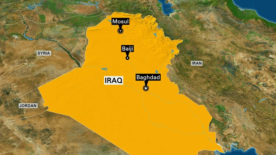 Officials: Iraqi forces in control of Baiji city