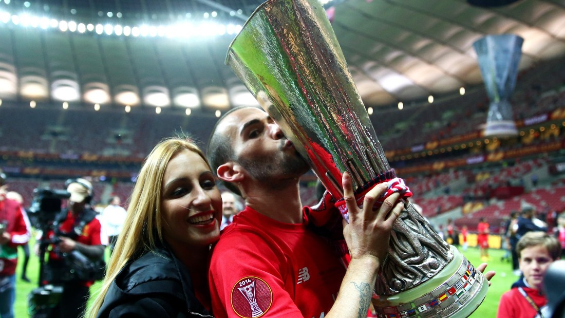 Despite its transfer ban, Barcelona signed Sevilla's Europa League-winning player Aleix Vidal for $24.4m. It has been a rapid rise to the top for Vidal, who was playing in the second division with Almeria just two years ago.